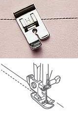 Straight stitch foot - H (G4)