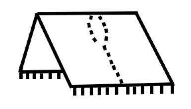 Mønster til poncho
