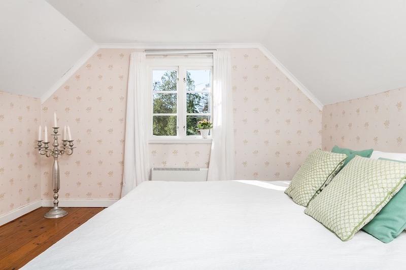 Sy interiør til soveværelset